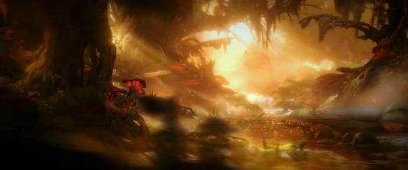 《奧日與鬼火意志》游戲截圖