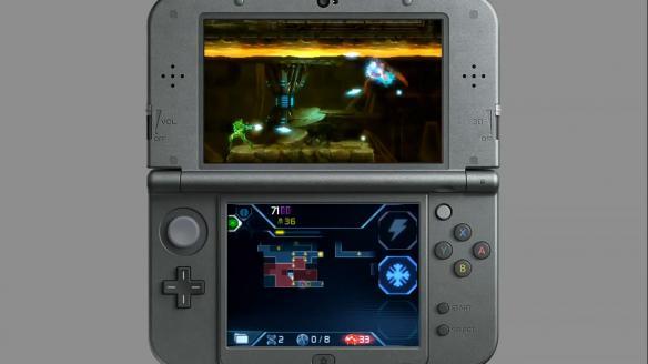《银河战士2:萨姆斯归来》游戏截图