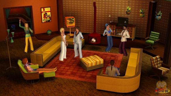 《模拟人生3:70 80和90年代》游戏截图