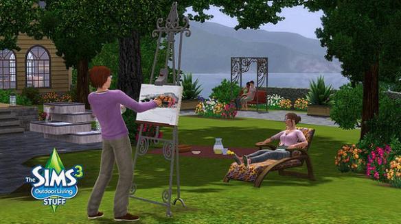 《模拟人生3:户外生活包》游戏截图