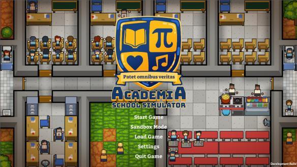 《学术界:学校模拟》游戏截图
