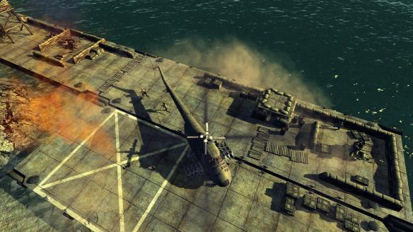 《直升机突击》游戏截图