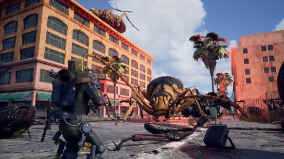 《地球防衛軍:鐵雨》游戲截圖-2