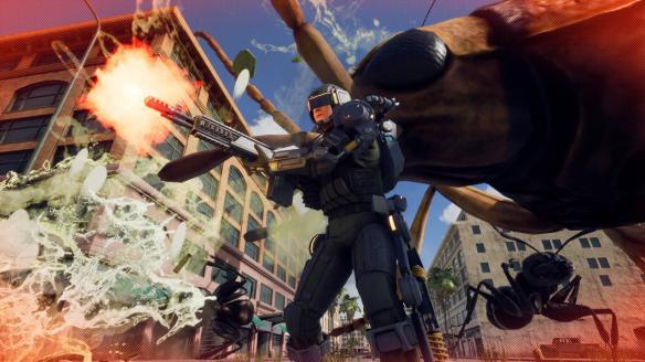 《地球防卫军:铁雨》游戏截图-2