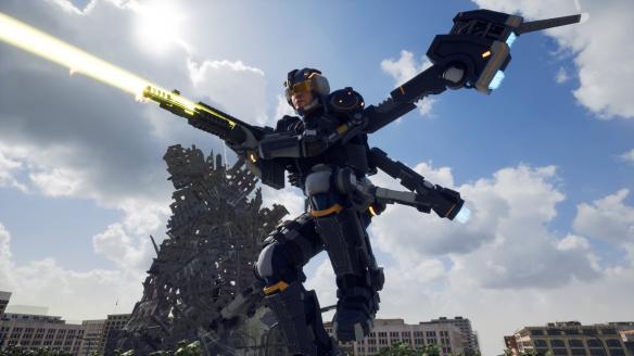 《地球防衛軍:鐵雨》游戲截圖-3