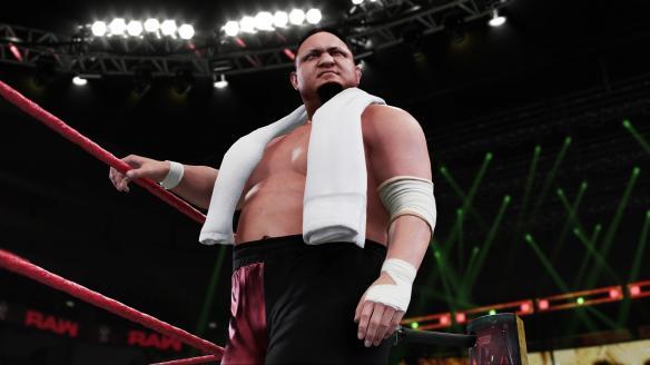 《WWE 2K18》游戲截圖