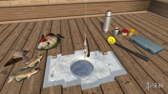 《冰湖钓鱼》游戏截图