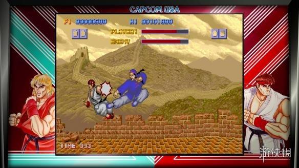 《街头霸王30周年纪念合集》游戏截图
