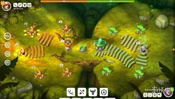 《蘑菇战争2》游戏截图