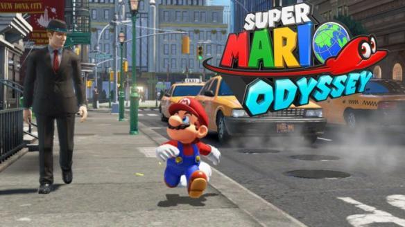 《超级马里奥:奥德赛》游戏截图-1