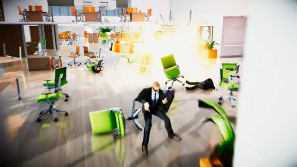 《辦公室大逃殺》游戲截圖-2
