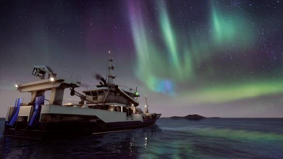 《捕鱼:巴伦支海》游戏截图