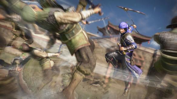 《真三国无双8》游戏截图-3