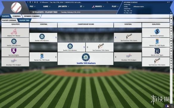 《劲爆美国棒球19》游戏截图