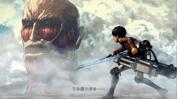 《进击的巨人2》游戏截图-1