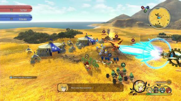 《二之國2:亡魂之國》游戲截圖-3