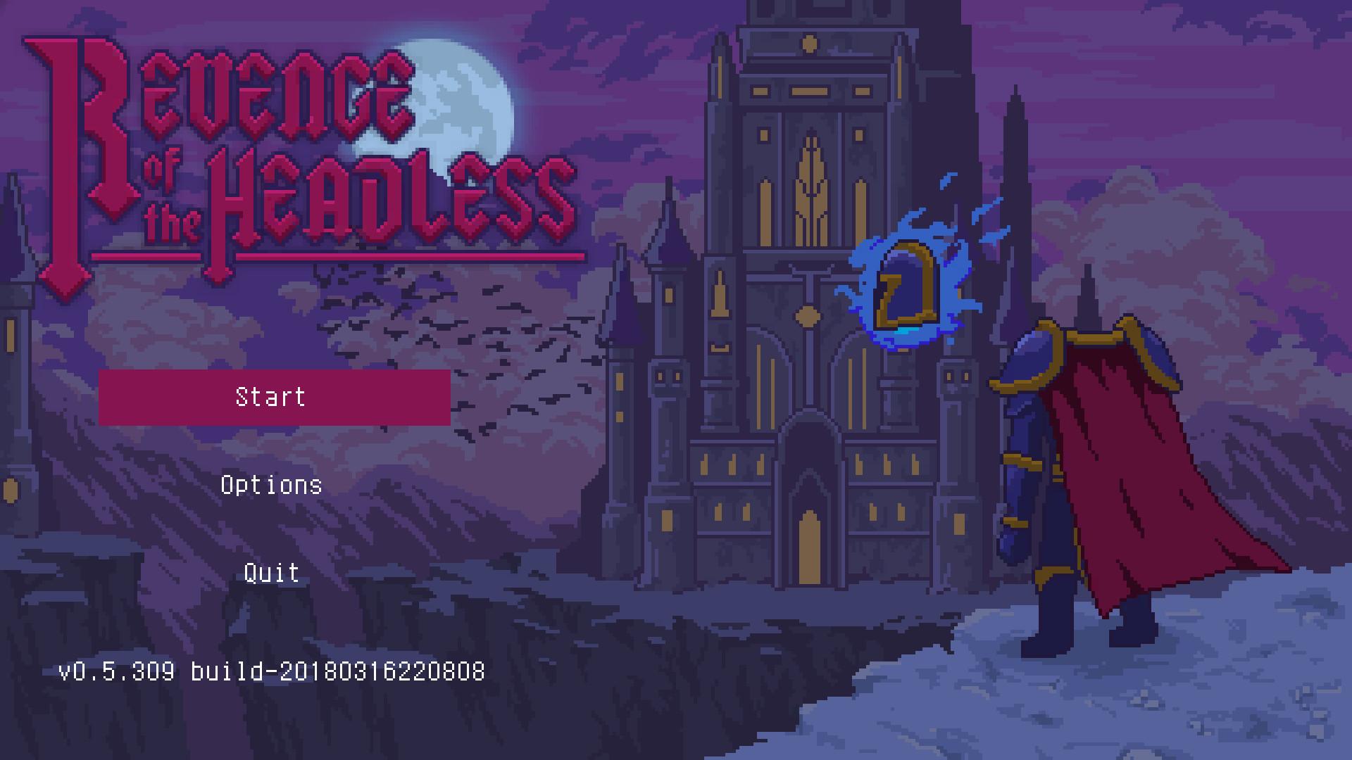 无头骑士的复仇游戏图片欣赏