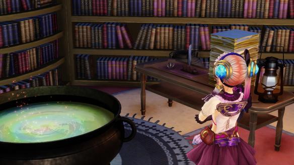 《莉蒂与丝尔的工作室:不可思议绘画的炼金术士》游戏截图-2