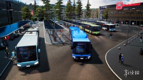 《巴士模拟18》游戏截图