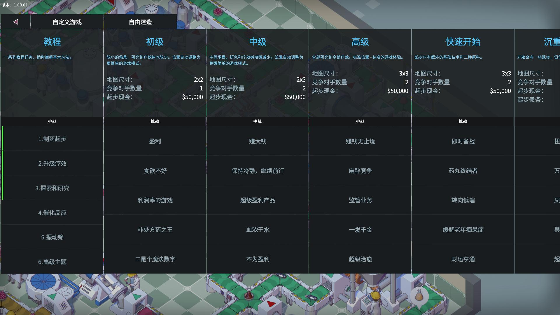 《大制药厂》中文版 for mac