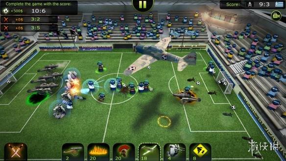 《足球联赛:超坑联盟》游戏截图