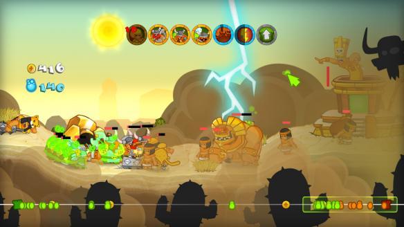 《剑与勇士HD》游戏截图