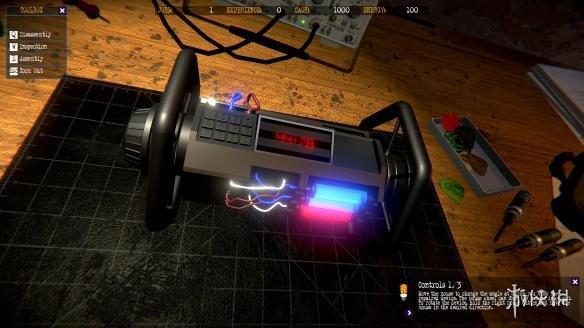 《ElectriX:電子機械模擬器》游戲截圖