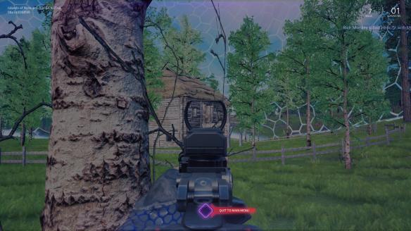 《尼内岛:大逃杀》游戏截图-2