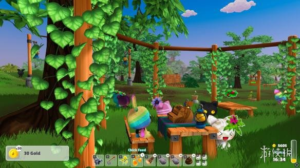 《花園動物》游戲截圖