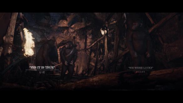 《人猿星球:最后邊疆》游戲截圖