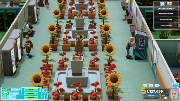 《双点医院》游戏截图-3