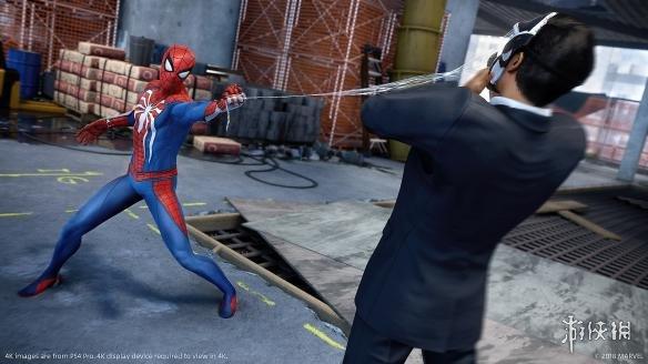 《漫威蜘蛛侠》游戏截图-2