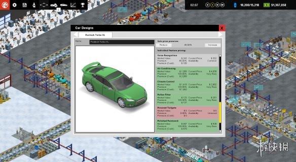 《生產線:汽車工廠模擬》游戲截圖