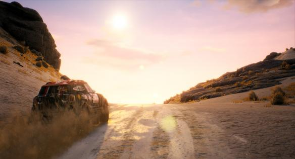 《达喀尔18》游戏截图