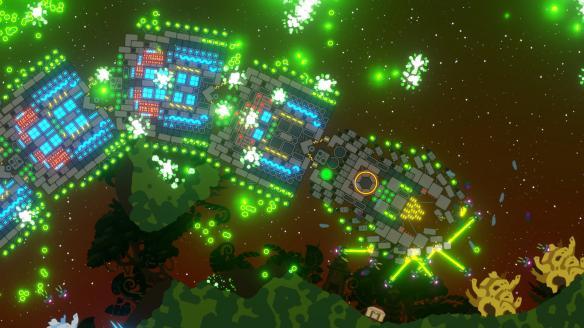 《Nimbatus:太空無人機構造者》游戲截圖
