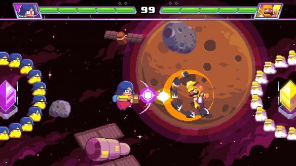 《超时空打球》游戏截图