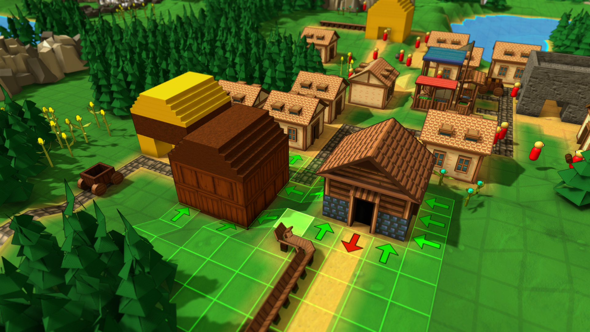 工业小镇插图2