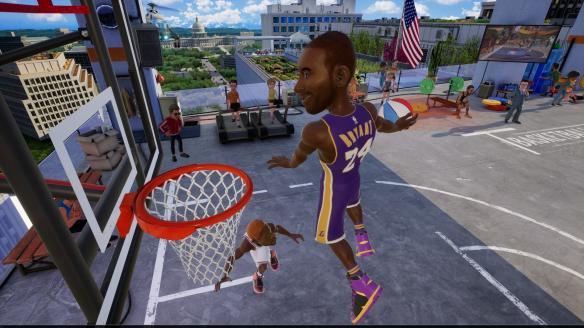《NBA 2K游乐场2》游戏截图