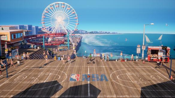 《NBA 2K游樂場2》游戲截圖