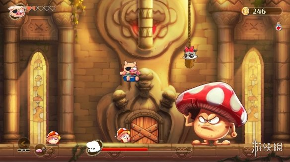 《恶魔男孩与被诅咒的王国》游戏截图