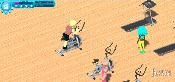 《健身帝国》游戏截图