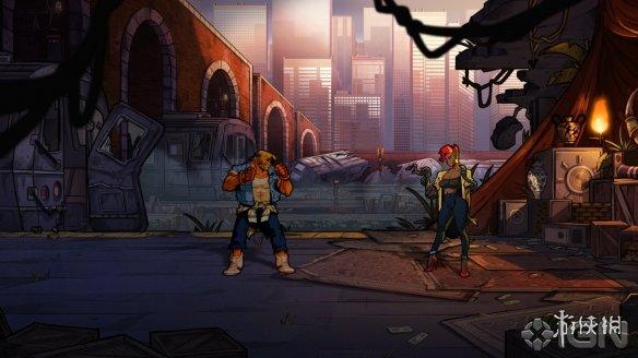 《怒之铁拳4》游戏截图