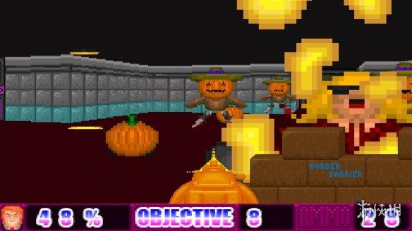 《唐納德VS火星人》游戲截圖