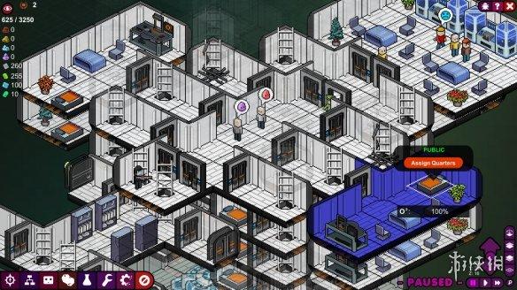 《太空站》游戲截圖