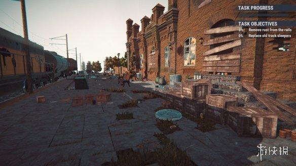 《火车站改造》游戏截图
