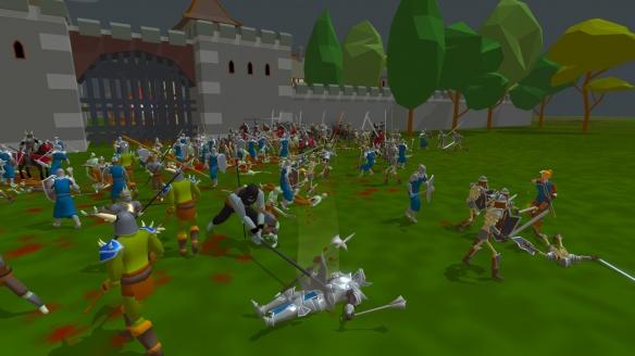 《王權隕落》游戲截圖