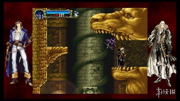 《恶魔城:月下夜想曲&血之轮回》游戏截图