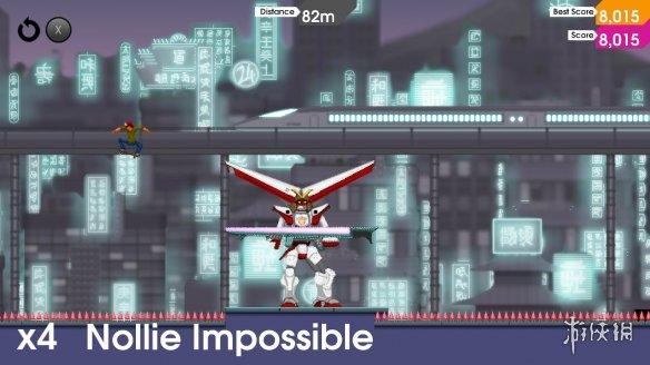 《像素滑板:變換姿態》游戲截圖