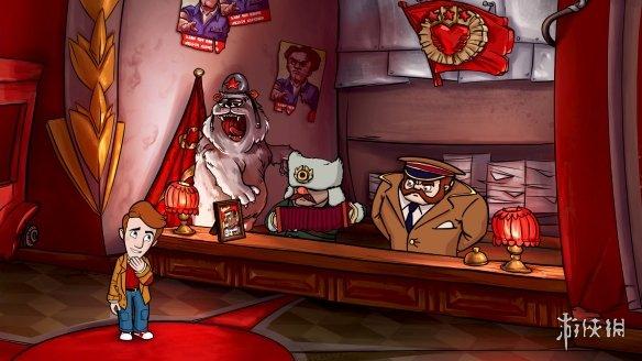 《讽刺的铁幕:来自俄罗斯套娃的爱情》游戏截图