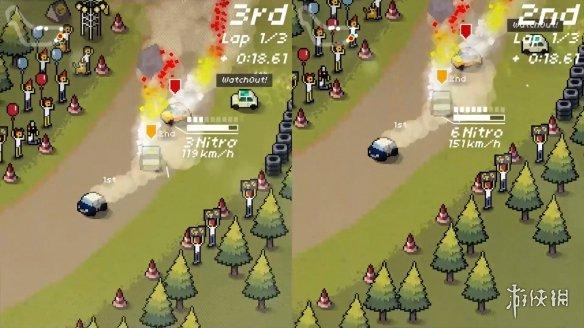 《超級像素賽車》游戲截圖